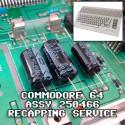Commodore 64 Recap Service - Assy 250466