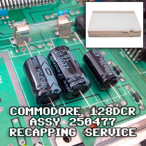 Commodore 128DCR Recap Service - Assy 250477