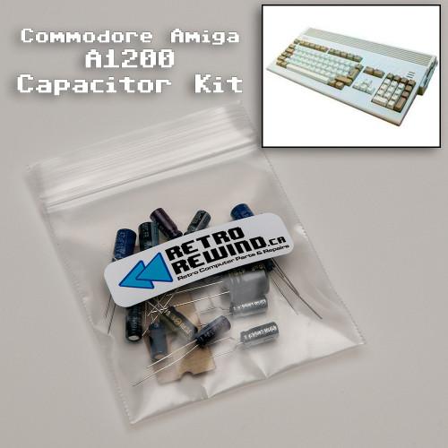 Commodore Amiga 1200 Capacitor Kit