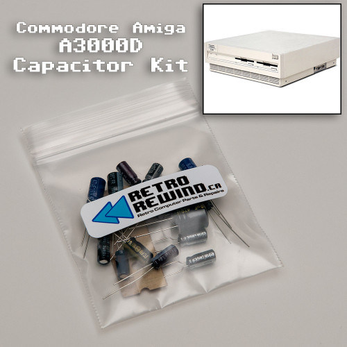 Commodore Amiga 3000D Capacitor Kit