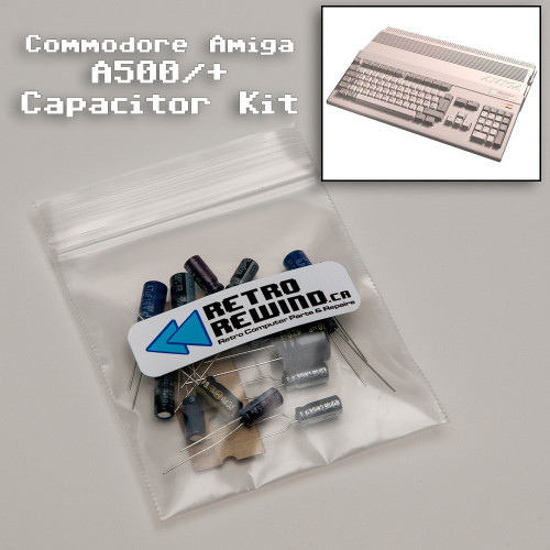 Commodore Amiga 500 Capacitor Kit