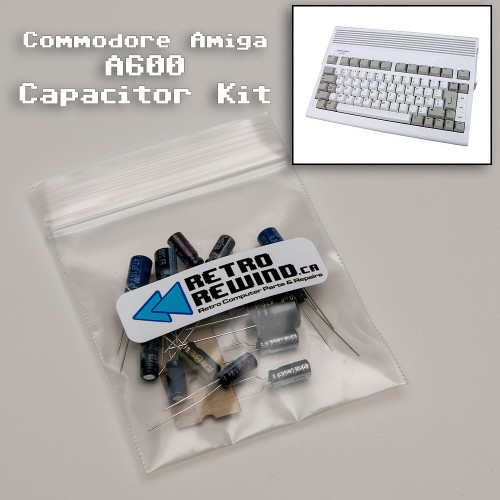 Commodore Amiga 600 Capacitor Kit
