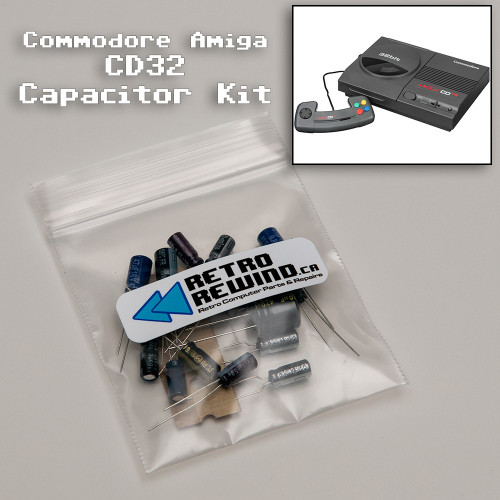 Commodore Amiga CD32 Capacitor Kit