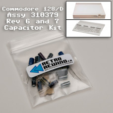 Commodore 128/D Capacitor Kit - Assy 310379