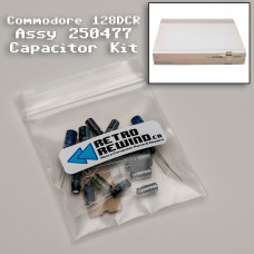Commodore 128DCR Capacitor Kit - Assy 250477