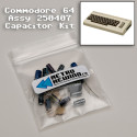 Commodore 64 Capacitor Kit - Assy 250407