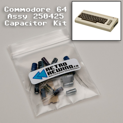 Commodore 64 Capacitor Kit - Assy 250425