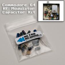 Commodore 64 RF Modulator Capacitor Kit