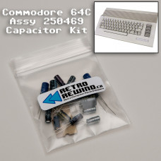 Commodore 64C Capacitor Kit - Assy 250469