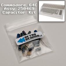 Commodore 64C Capacitor Kit - Assy 250469