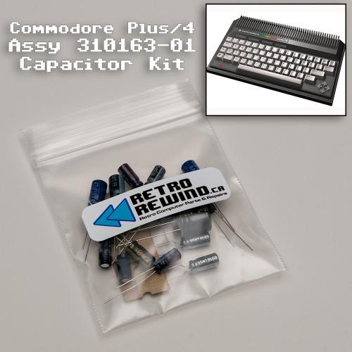 Commodore Plus 4 Capacitor Kit - Assy 310163-01
